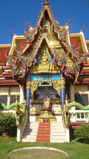 Ornate templsa Koh Samui