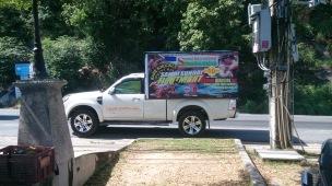 Muay Thai advertising Koh Samui